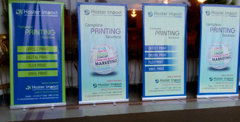 Standee Printing in Bangalore - Haster Impact